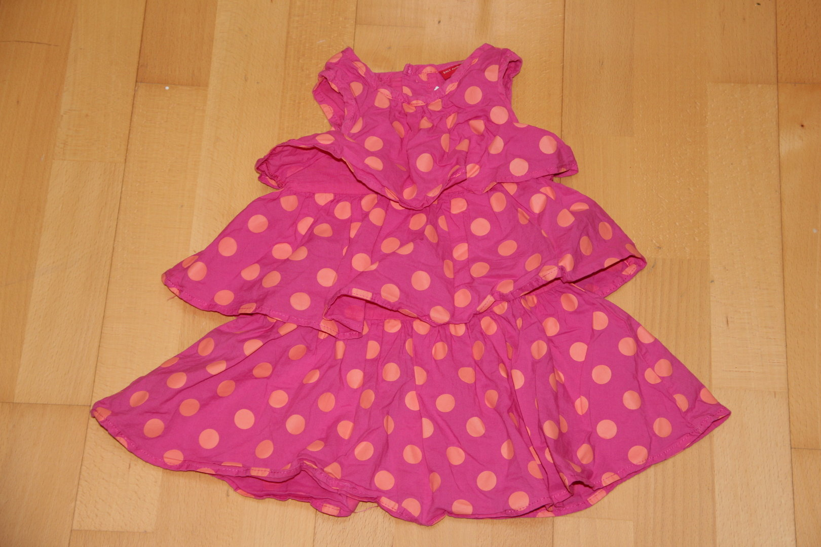 Pinkes Kleid Mit Punkte Salt And Pepper Gr 86