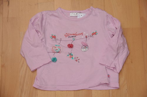 rosa Shirt Strawberry - Kik - Gr. 86