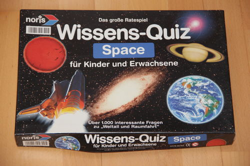 Wissens-Quiz Space - Noris