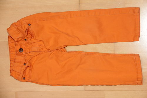 orange Hose - H&M - Gr. 92