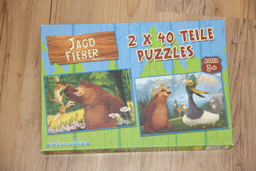 Puzzle Jagdfieber - 2x40 Teile